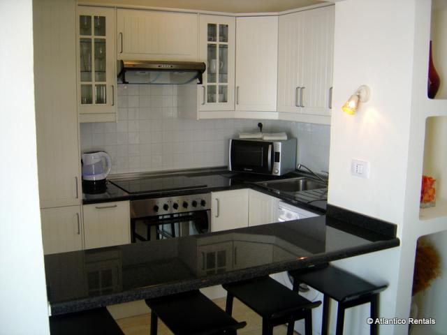 Kitchen (pic1) - Las Palmeras II Complex, Puerto del Carmen, Lanzarote